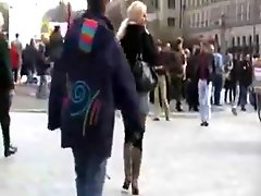 German Mature In Public At Berlin