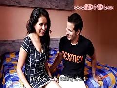 Sexmex Concurso De Besos Kissing Contest Paula Ramos