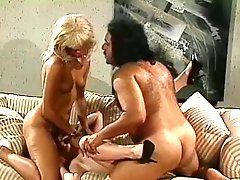 Latina Hermaphrodite Plays With Ron Jeremy & Girlfriend