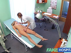Fakehospital Naughty Nurse Gets Her Pussy Licked By Blonde