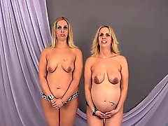 Pregnant Twins Mimi & Teagan