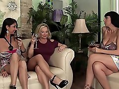 Rachel Love Alia Janine Nadia Night Orgy