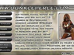Masked German Ebony Girl Gets A Load Dbm Video