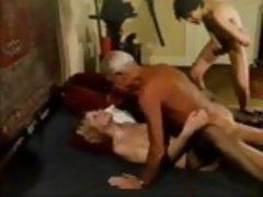 Older Man Grand Dad Jean Villroy Shagging Hot Babe