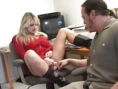 Busty Horny Mature Fucks Her Therapist Vicky Vette