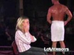 Male Stripper Gets Sucked