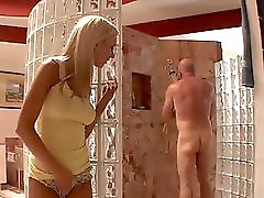 Gorgeous Cock Sucking Young Blonde With Great Tits And Piercing Gets Fucked