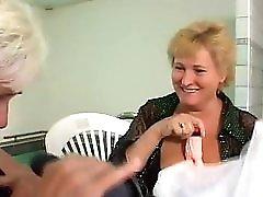 German Grannies Orgy