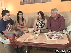 Innocent Girl Is Seduced By Her Bf's Parents