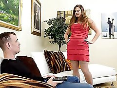 Thick Step Mom Allison Moore Takes A Pounding