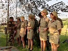 Military Anal Orgy