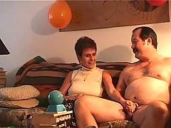 Pervert Stepdad With Mom F70