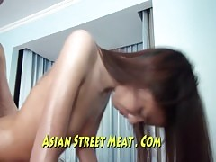 Low Class Clean Fuck With A Dirty Asian Slapper
