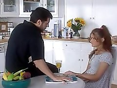 Dad Fucks Her Young Step Daughter