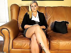 Blonde On Casting Couch Fucked Like A Slut