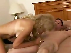 Skinny Grandma Cam Got Fake Big Tits And Fucking A Young Male
