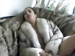 Fur Fetish Sex On Couch And Mastrubation