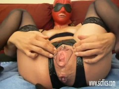 Urethral Dildo Fucked And Anal Fisted Amateur