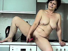 Oldnanny Granny And Sexy Teen Playing With Strapon Granny Masturbate
