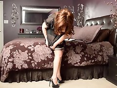 Samantha Legs In Sil Ff Eva Outline Stockings And Heels
