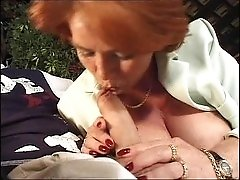 Mature old granny slut