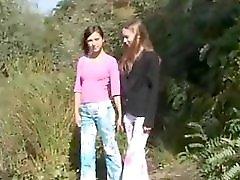 Two 18yo Girls Naked By The Lake