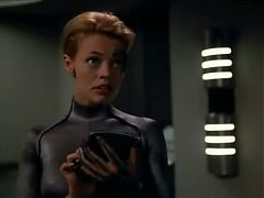 Star Trek Voyager Seven Of Nine Wants To Try Sex