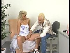 Cougar Gets Hunted Down By Young Cock