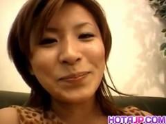 Shizu Umemiya Is Aroused With Vibrator