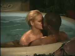 Interracial Sex In The Pool From 7lives Xposed