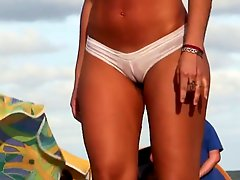 Transparent Thong Bikini