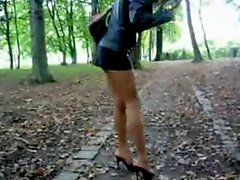 Miniskirt And Heels 2