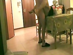 Hidden Cam Aunt Fucked On The Table !