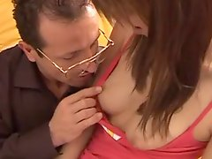 Old Pervy Teacher Fucks Sweet Young Student