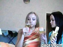 Drunken Lesbians Have Sex Fun Without Inhibitions