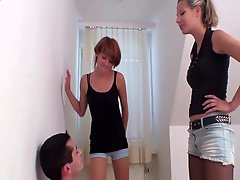 Face Spit By 2 Hot Girls