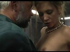 Young Girl Used By Two Old Men