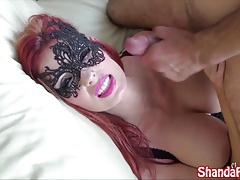 Kinky Canadian Milf Shanda Fay Gets Fucked In Sexy Mask!