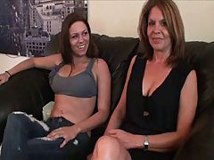 Mother Daughter's Friend Footjob #2 Daughter's Friend Teachin Mom