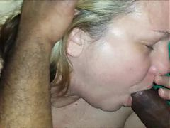 Horny Mature Babe Loves Black Dick