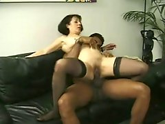 Vintage Mature Anne Andersson Fucked By A Big Black Cock