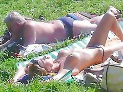 Spycams Voyeur Public Park Flash Girl