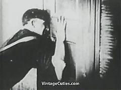 Painter Seduces And Fucks A Single Girl 1920s Vintage