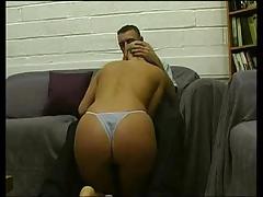 Blonde Slag Clair Louise Ellis Sucking Cock