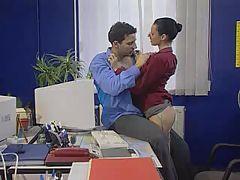 Secretary Gets It In The Office