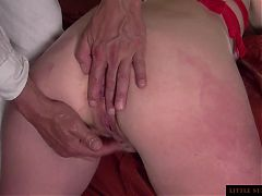Ass And Pussy Training With Fist Little Sunshine Milf