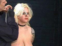 Plumper Blonde Tortured