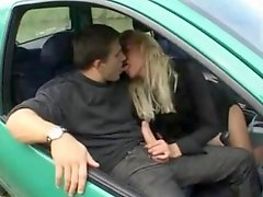 Milf French Car