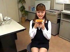Japanese Toast Bukkake Cum On Food